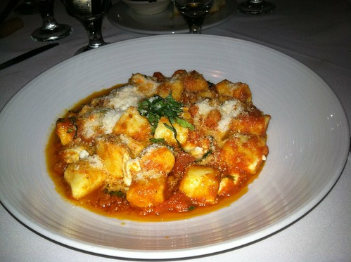 You say gnocchi I say gnocchi