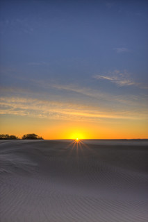 Sunset on the Oceano Dunes