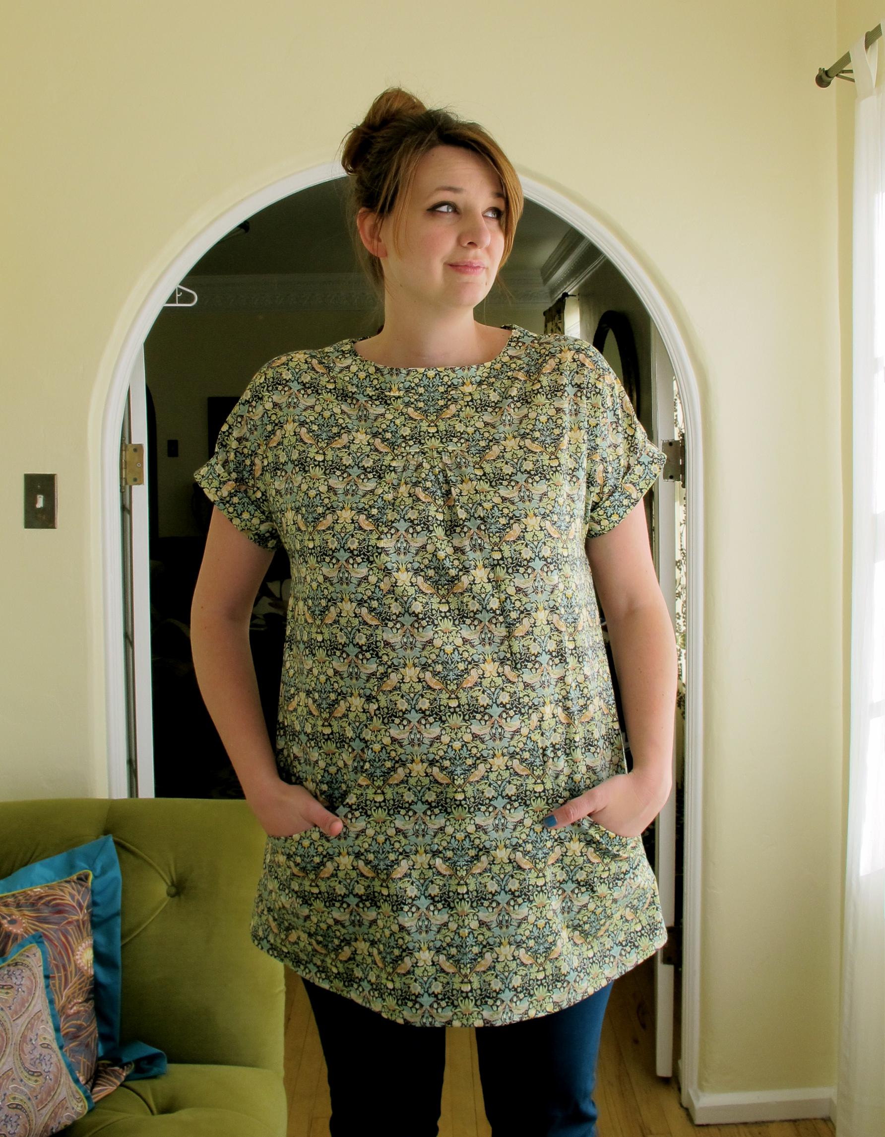 Me in Portfolio tunic