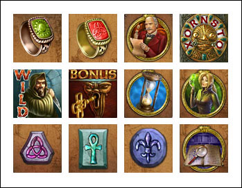 free Secret Code slot game symbols