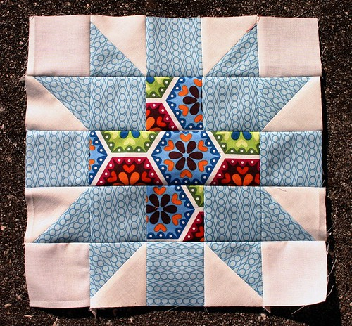 Star Crossed quilt block tutorial - new on the blog today