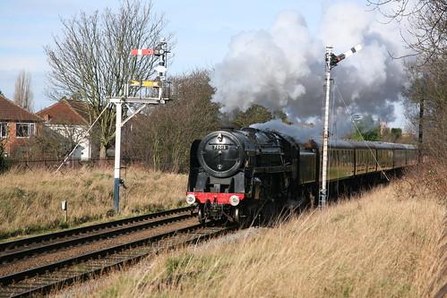 BR Standard Class 7P6F 'Britannia' 4-6-2 70013 'Oliver Cromwell'