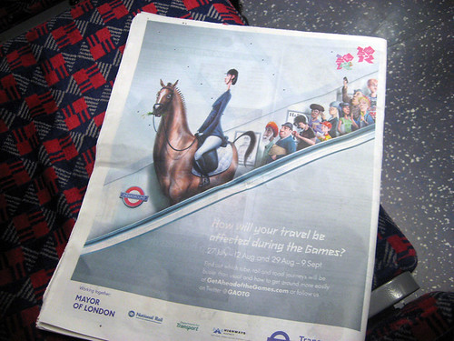 Get Ahead of The Games - New TfL Campaign
