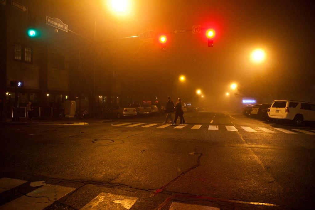 Hazy Athens