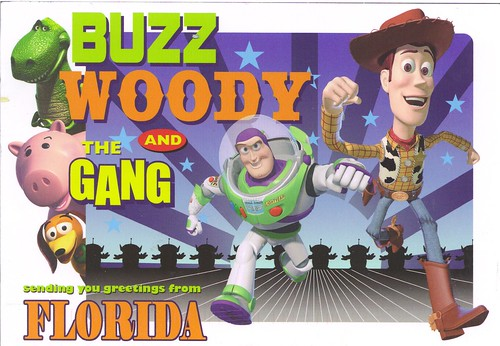 Buzz, Woody & The Gang-Toy Story