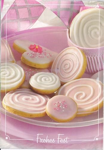 Sweet Pink Cookies