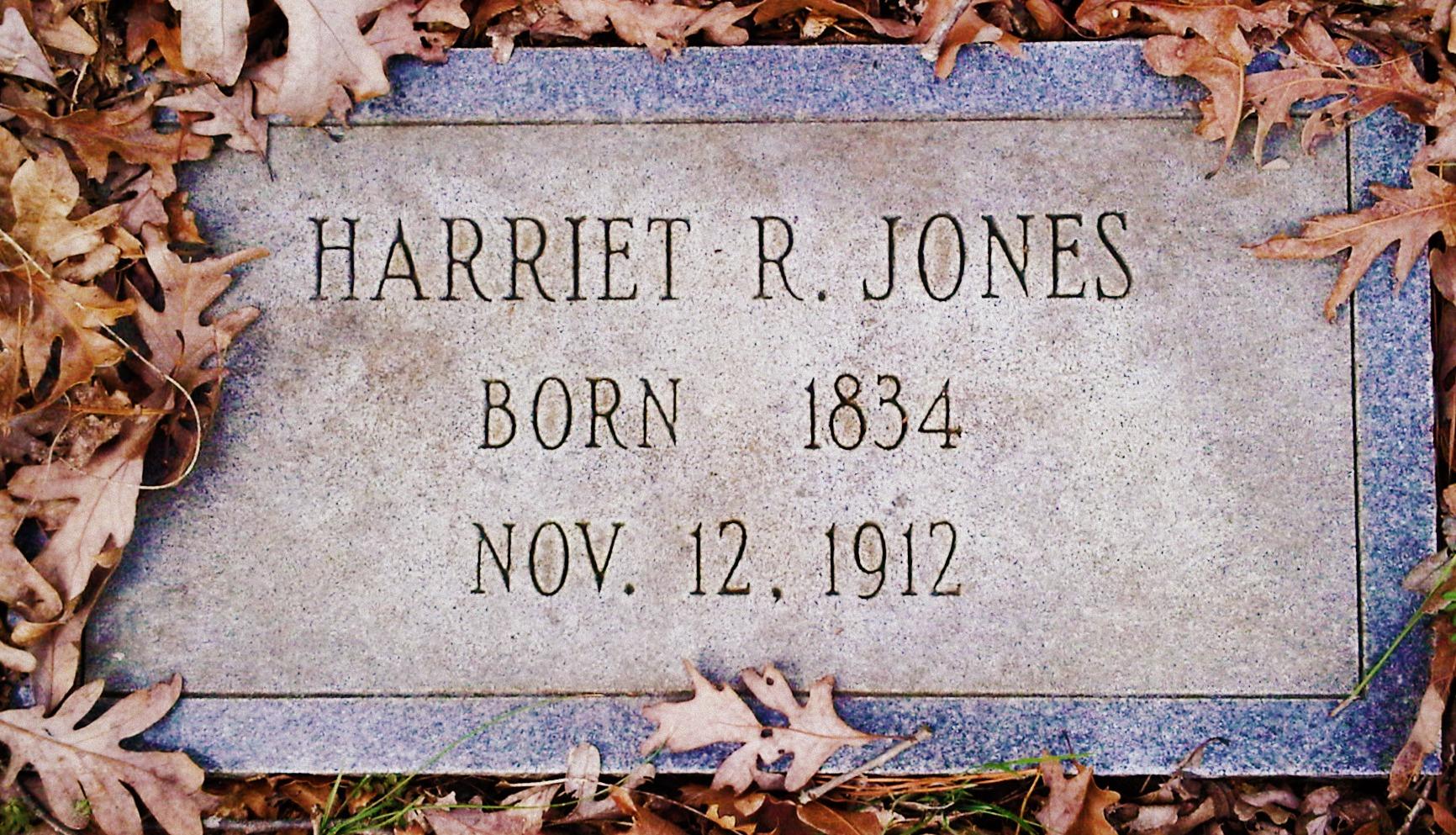 Harriet R Jones