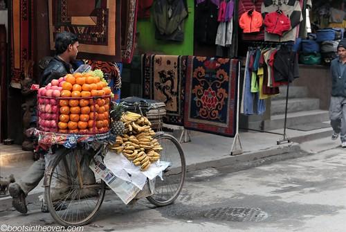 Mobile Fruit Vendor