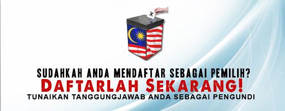 daftar mengundi