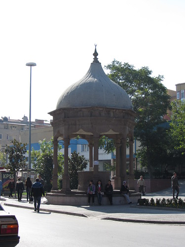 Balikesir: Fountain near clock tower