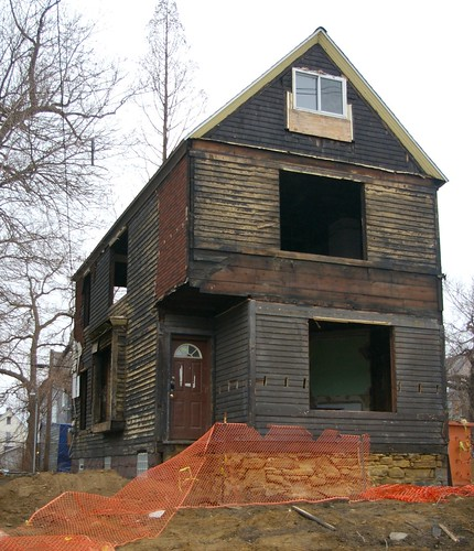Langston Hughes house - under renovation