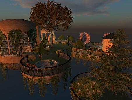 A secret garden in the sky (sky1, v2.1), 499 lindens by Cherokeeh Asteria