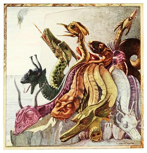006-El dragon que vigilaba-Polish fairy tales 1920-Cecile Walton