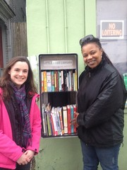 The first Little Free Library in Syracuse