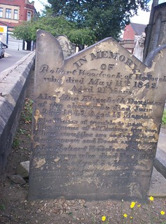 Childrens grave in St Michaels