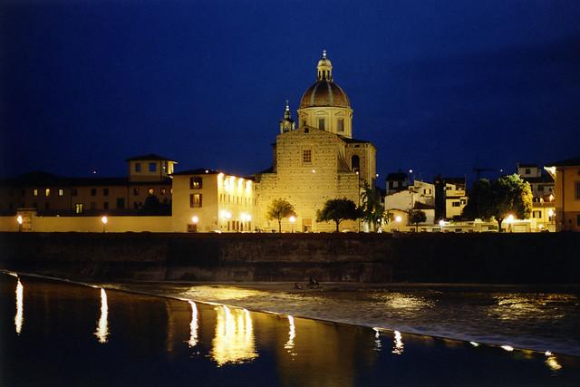 Seminario Maggiore di Firenze, night