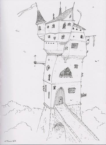 Le château de Caro by Fred Ramon
