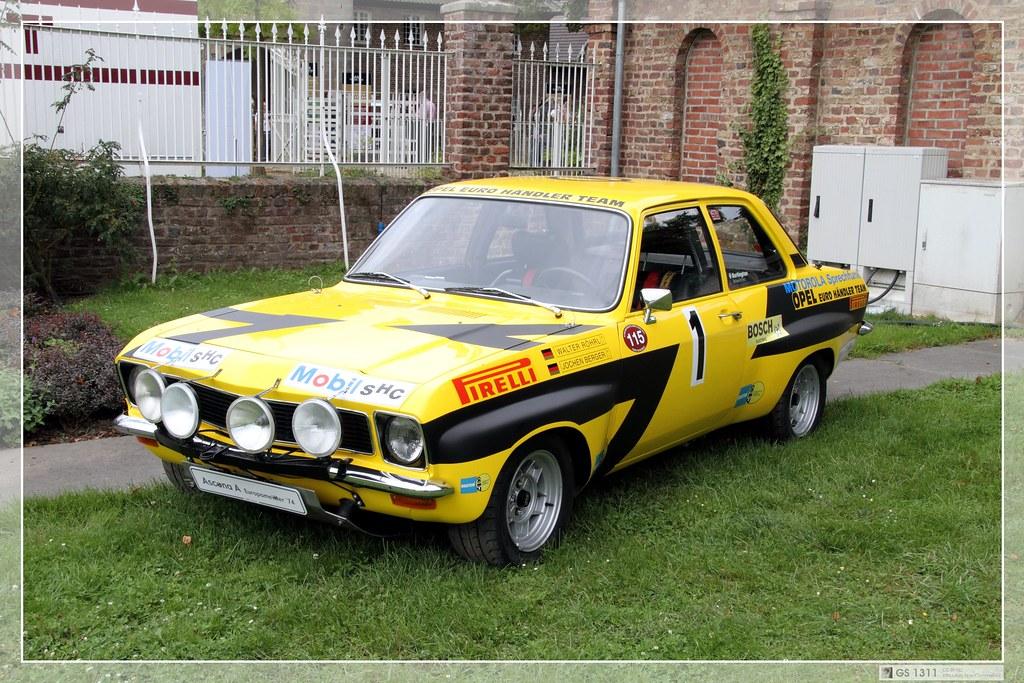 1974 Opel Ascona A Rallye 01 A Photo On Flickriver
