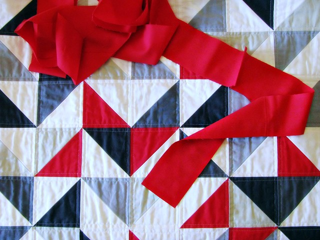 Juju's Quilt: Binding