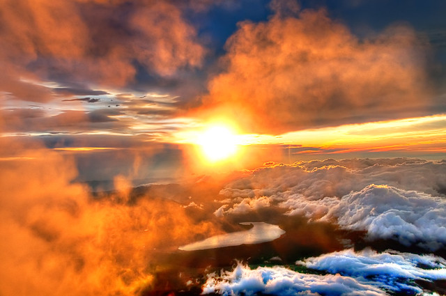 Majestic Sunrise from the Summit of Mount Fuji
