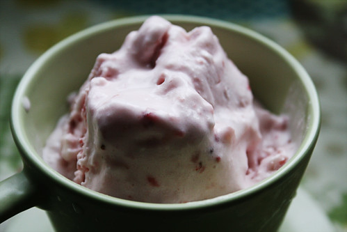 Strawberry Dairy-Free Ice Cream
