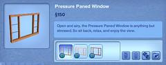 Pressure Paned Window