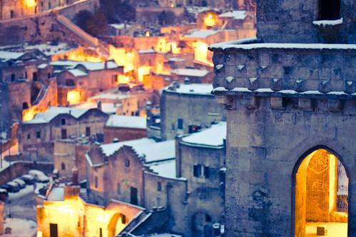 6836874809 bd103655aa Lessenza della bellezza unesco snow neve matera foto flickr
