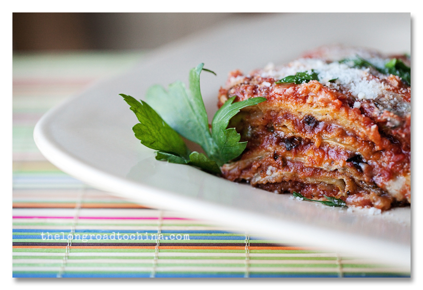 Eggplant Parm on a Plate BLOG