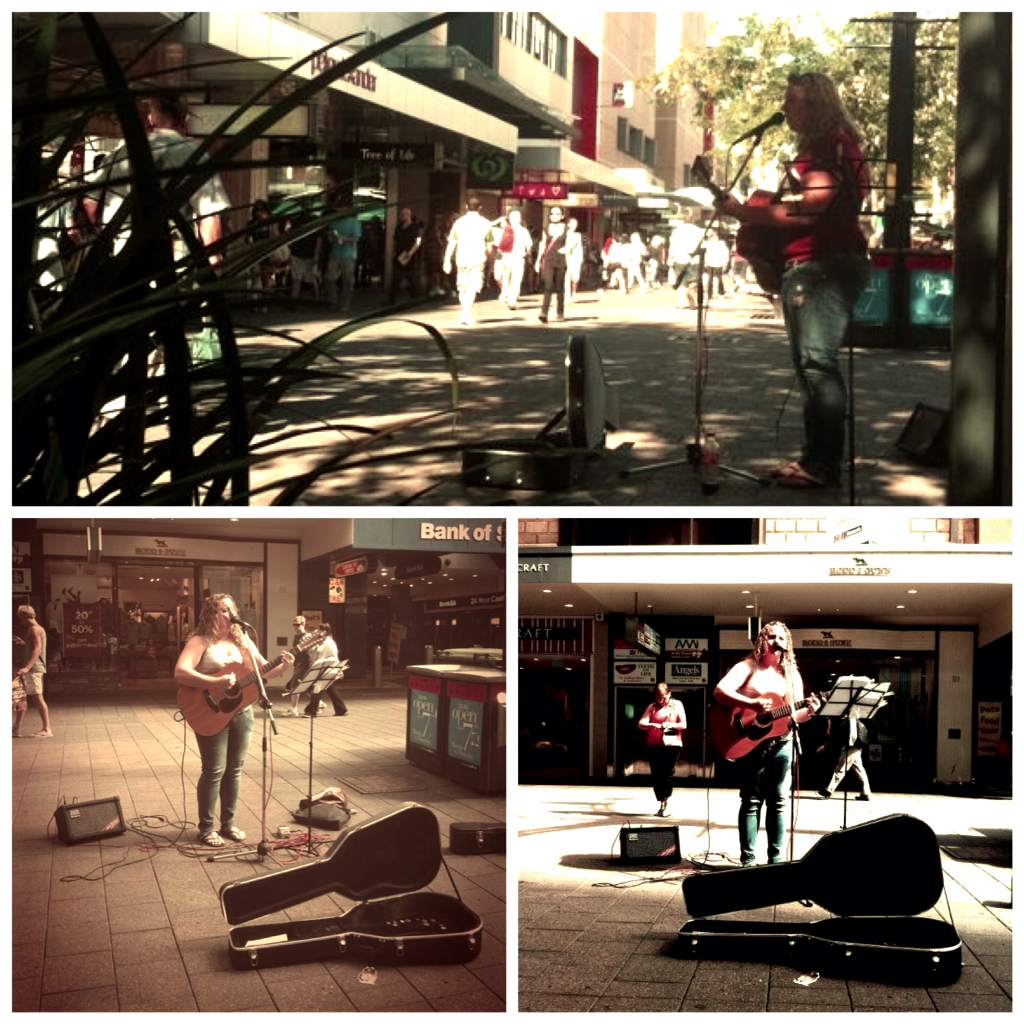 Busking for Change!