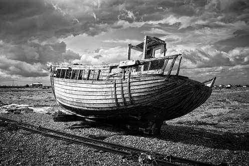 running dry in Dungeness