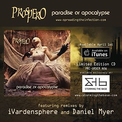 Our album release date is April 1st! #prospero #industrial #noise