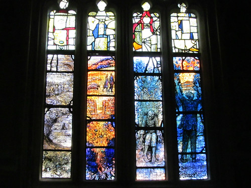 Ivor Gurney memorial window 2a