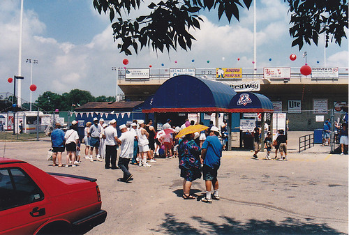 Rockford Cubbies vs. West Michigan Whitecaps (Rockford, Illinois - July 16, 1995)