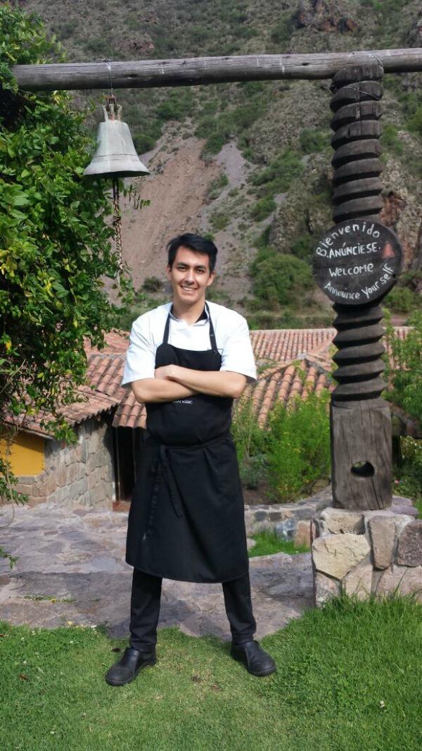 Diego Gutierrez chef peruano finalista en San Pellegrino Young Chef 2016