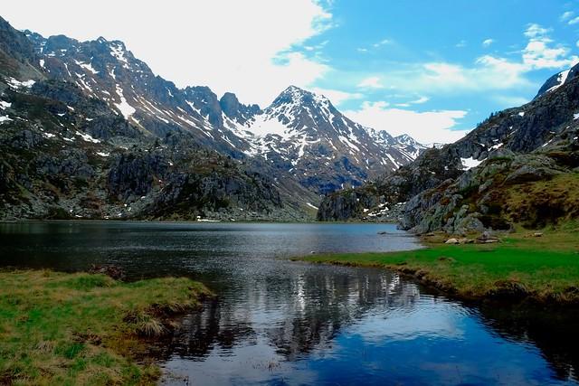 L'étang du Peyregrand sort de son hiver