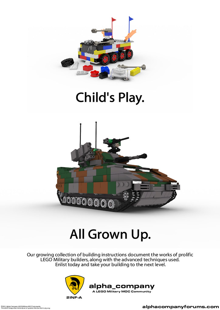 3D Rendered LEGO Poster 6386475011_6559253459_b
