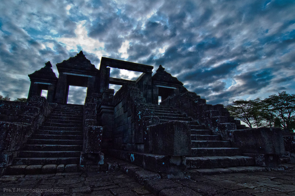 Gate of Ratu Boko Palace