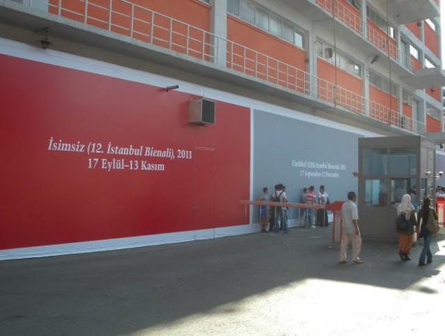 Istanbul Biennial_entrance