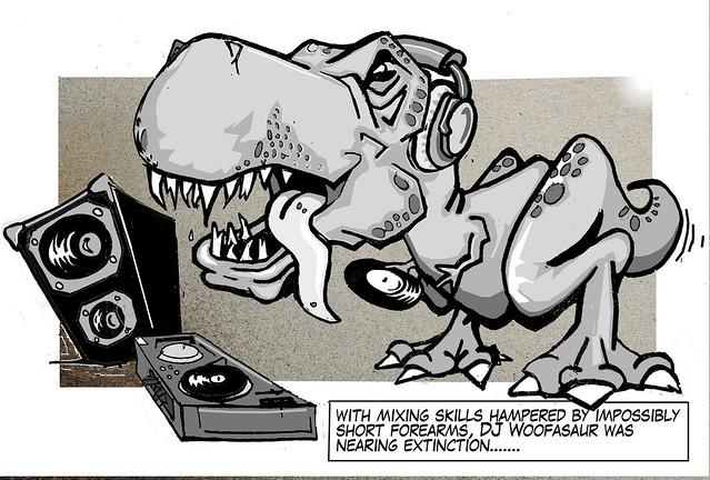 DJ Woofasaur