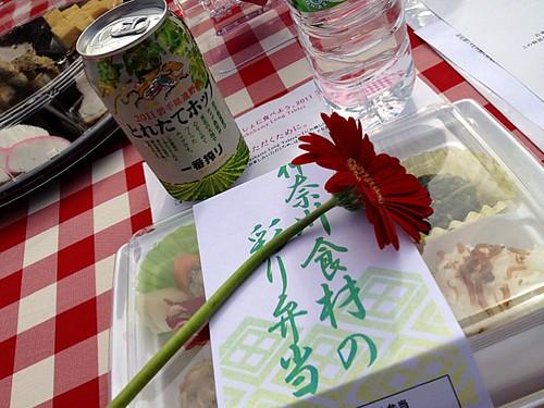 食事はお弁当がメイン。ですよね、、いっしょに食べよう。2011@横浜