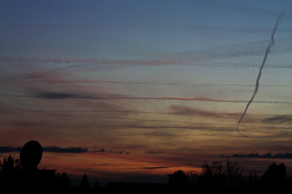 Venus und Neulicht, 26.Nov.2011