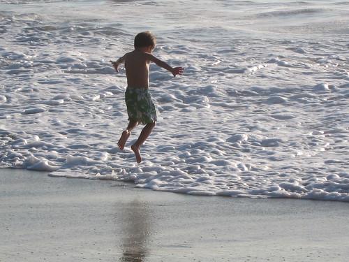 Ezra jumps