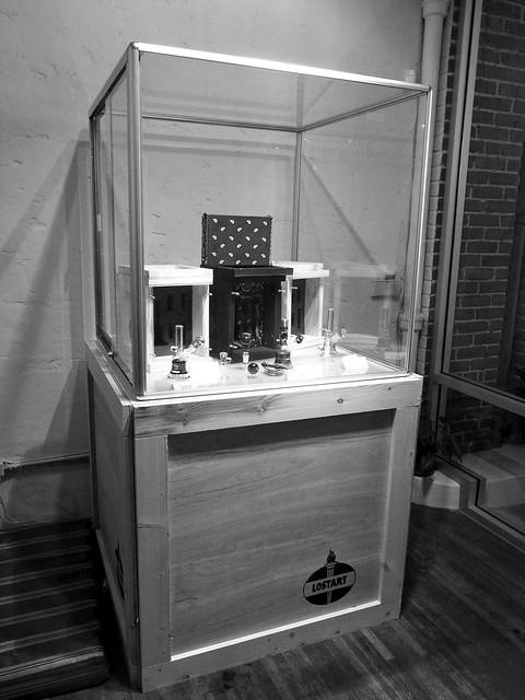 crate pedestal