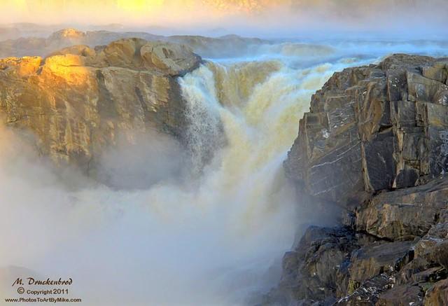Grand Falls (NB) Canada  City new picture : Grand Falls at sunrise, New Brunswick Canada | Flickr Photo Sharing!