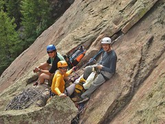Team Yearning Air Climbs First Flatiron