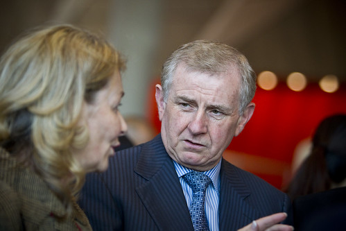 Kathy Keele, CEO of the Australia Council for the Arts and Hon Mr Simon Crean, Australian Federal Minister for the Arts