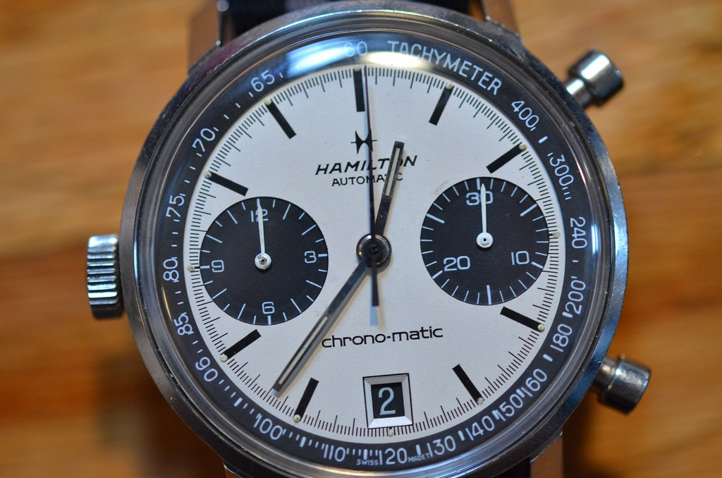 Hamilton Chronomatic From 1969