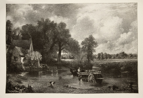 """Timothy Cole - """"The Hay-wain"""" - Dec. 1899 - Wood Engraving ..."""
