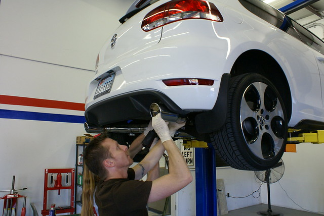 ghl turbo back exhaust for mk6 the volkswagen club of