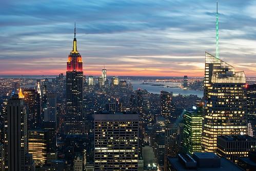 無料写真素材, 建築物・町並み, 都市, ビルディング, 風景  アメリカ合衆国, エンパイア・ステート・ビルディング, アメリカ合衆国  ニューヨーク